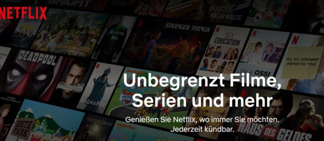 Einstellungen bei Netflix vornehmen