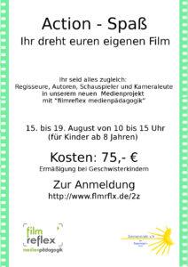 Filmprojekt Sommerferien 2016
