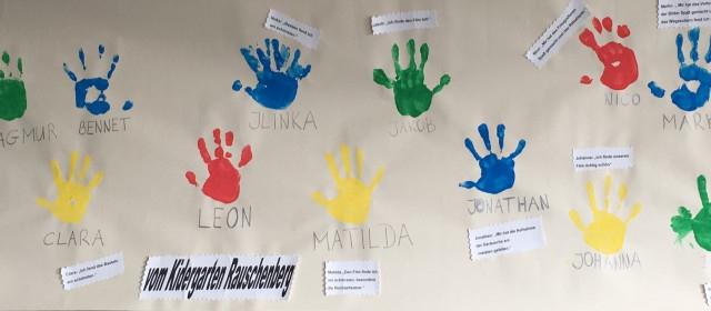 Projekt in der Kita Rauschenberg –  Medienkinder-Kindermedien